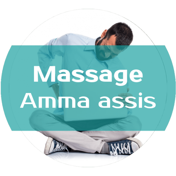 Réservez : Massage Amma assis